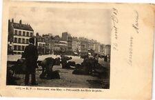 CPA Boulogne-sur-Mer - Préparatifs des filets de péche (196078)