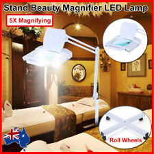 Stand 5x Magnifying LED Magnifier Lamp Skincare Beauty Nail Manicure Tattoo AU