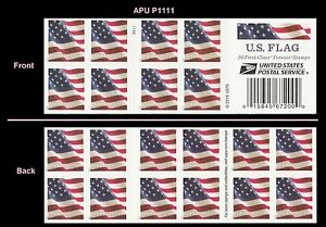 US 5161a Flag forever booklet APU P1111 (20 stamps) MNH 2017