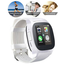 Bluetooth Smart Watch Phone SIM Card Slot Pedometer For Android Women Men Boys
