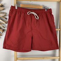 Rivers Size L Mens Red Board Shorts Swimming Trunks Togs