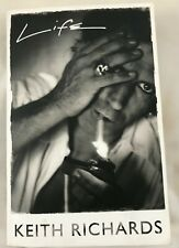 Keith Richards Rolling Stones authentic hand signed in 2012 paperback book Life