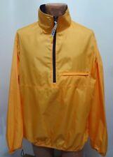 L.L. Bean Mens L Tall Yellow Zip-Front Windbreaker Jacket