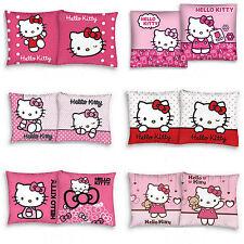 Hello Kitty Kissenbezug Dekokissen Kinder Kissenhülle Kopfkissenbezug 40x40 cm