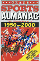 CHRISTOPHER LLOYD SIGNED AUTOGRAPH GRAYS ALMANAC - BACK TO THE FUTURE BECKETT 3