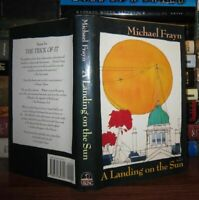 Frayn, Michael A LANDING ON THE SUN  1st Edition 1st Printing