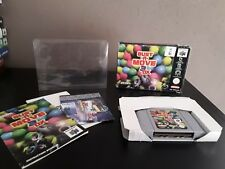 Original bust a move 3 dx nintendo 64 pal cartridge complete in box