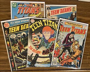 TEEN TiTANS - LOT Of 5 Early Issues #17-51 - Free Shipping! 🔥 🔑 🔥 DC