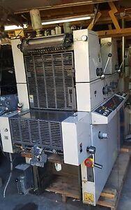 Printing press  1996  Ryobi 3302 - Kompac Damps