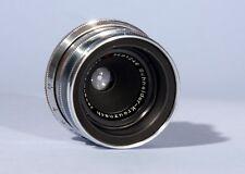 Schneider Kreuznach Jsogon lsogon 40mm f/4.5 4.5/40mm Red V Lens * Exakta Mount