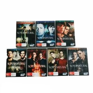 Supernatural Series 1 - 7 Complete DVD Seasons One Two Three Four Five Six Seven