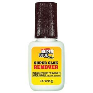 SUPER GLUE SGR12 Super Glue Gel Remover with brush applicator