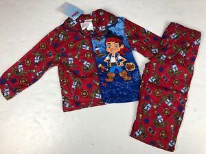Disney Junior Jake Neverland Pirates 2 Piece Boys Pajama Set NWT 2T