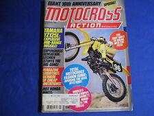 MOTOCROSS ACTION MAGAZINE-FEB 1984-YZ125L-HUSQ 125CR-WORKS '73 VS '83-ROY-W REID