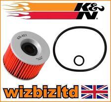 Filtres à huile K&N pour motocyclette Kawasaki