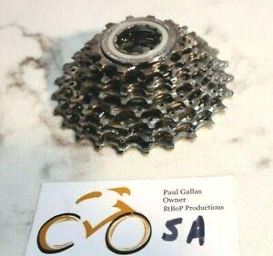 Shimano Ultegra CS-6500 | 13-25t | 9 Speed Bicycle Cassette / Lock Ring | Chrome
