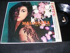 Gorgeous Original 50s Exotic Gal cover LP MALAGUENA The Three Suns RCA 1956 Nice