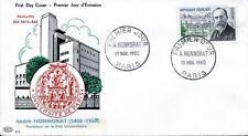 FRANCE FDC - 364 1277 1 ANDRE HONNORAT 19 11 1960