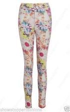 Cotton Blend Floral Leg Warmers for Women