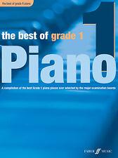 El mejor de grado 1 Piano Clásico Piano Solo aprender a jugar Faber música Libro