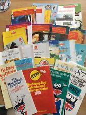 British Stamp Calendars 1979-1990 And 1992-2005