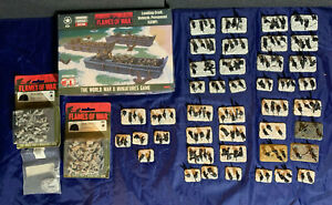 Flames of War U.S. D-Day Normandy Army ~ 29th Assault Company LCVP Boat Section