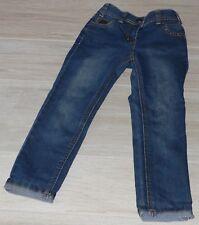535 - Jean 5 ans straight bleu broderies et rivet ORCHESTRA