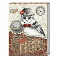 Traveling Owl Pocket Note Pad by Punch Studio