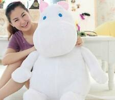 New Moomin -valley Plush Toy 80cm Size Hippo Doll cute And Lovely Birthday Gift~