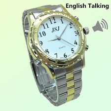 English Talking Watch For Blind People Or The Elderly And Visually Impaired
