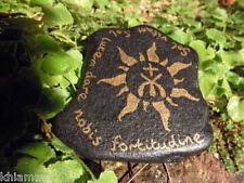 Cachet sun pierre talisman de tarification AMULET Wiccan Pagan Autel outil Yule solaire