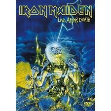 IRON MAIDEN LIVE AFTER DEATH 2 DVD ALL REGIONS PAL NEW