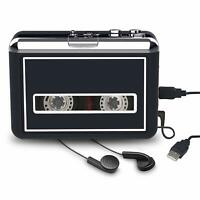 Portable Cassette Player USB Cassette Tape to MP3 CD Player Converter