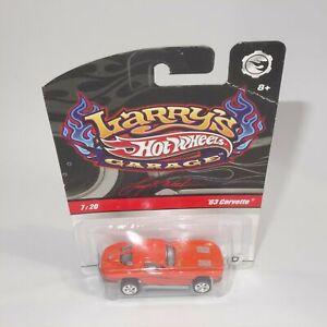 Mattel Hot Wheels Larry's Garage 1963 Chevrolet Corvette
