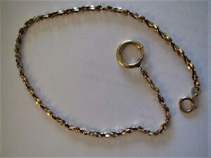 Pocket Watch Chain 14K Gold