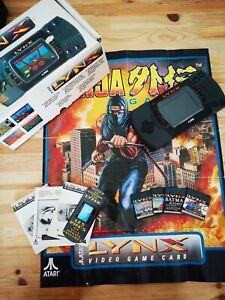 Console Atari Lynx hs + jeux