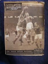Miroir Sprint Novembre 1949 Football France Tchécoslovaquie N°179