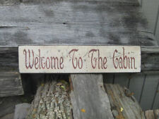 Rustic Primitive Welcome Home Decor Plaques Signs For Sale