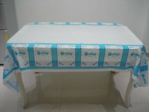Baby Boy Plastic Table Cover