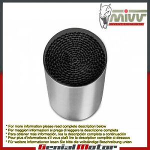 Catalyzer ACC.033.A1 for Mivv exhausts for Triumph Speed Triple 2005 > 2006