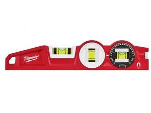 "Milwaukee Torpedo Level SHARPSITE 10"" Magnetic Spirit Level Vat Inc 4932459096"