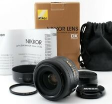 【Near Mint】Nikon Nikkor AF-S DX 35 mm F1.8G with box From Japan 646604