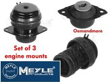 SET OF 3 MEYLE ENGINE MOUNTS GOLF MK3 1.9TDI 90 110 & 2.0 16V ABF GTI