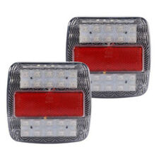 CAR 12V LED STOP REAR LICENSE PLATE LIGHTS INDICATOR LAMP TRUCK TRAILER CARAVAN