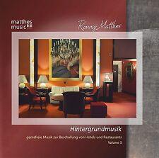 Hintergrundmusik, Vol. 3 [Gemafreie Musik; Label: Matthesmusic - Ronny Matthes]