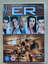 ER Season 6 DVD Box Set Michael Crichton US Medical Hospital Drama Series