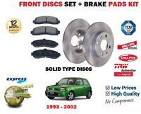 Per Nissan Micra K11 1.0 1.3 1.4 1992-2003 Solidio Anteriore Dischi Freno Set +