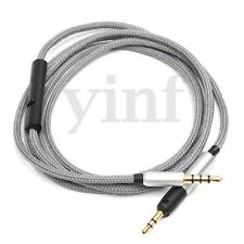 Cable with Remote & Mic For Sennheiser HD595 HD598 HD558 HD518 Headphones