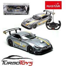 NEW - RASTAR 1/14 RC MERCEDES AMG GT3 RACE CAR - USB CHARGING - AUS STOCK - RTR