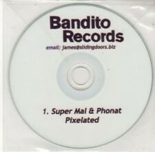 (BY752) Pixelated, Super Mal & Phonat - DJ CD